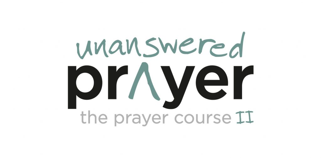 Prayer course part 2: Unanswered Prayer logo