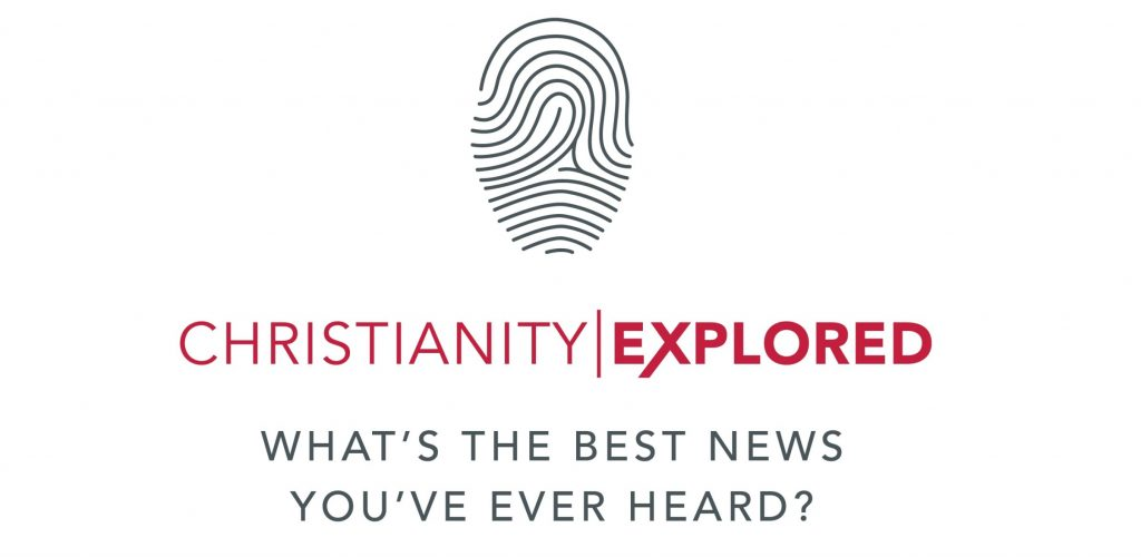 Christianity explored logo with text, 'What's the best news you've ever heard'